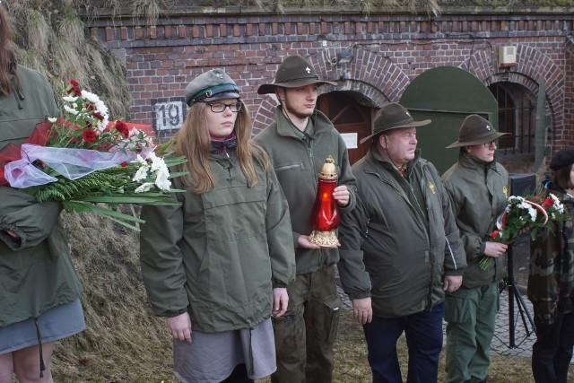 Fort VII: Pamiętali o poległych harcerzach
