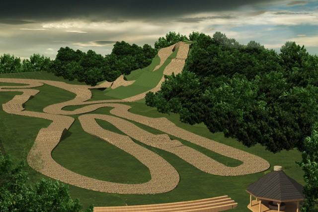 Tak może wyglądać amatorski tor motocrossowy, którego budowa została zgłoszona do konkursu