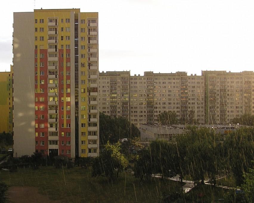 Warszawa, dzielnica Chomiczówka...