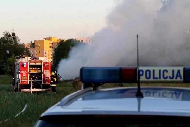 Pożar na Zakrzowie 14.06.2021