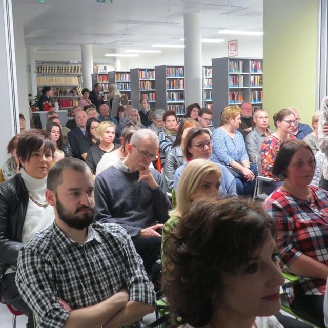 Wąbrzeźnianie chętnie przychodzą na spotkania do wąbrzeskiej książnicy