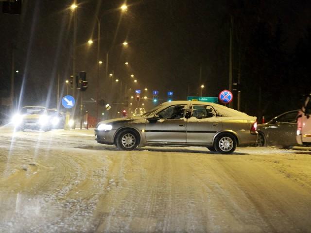 Kolejny atak zimy w Białymstoku