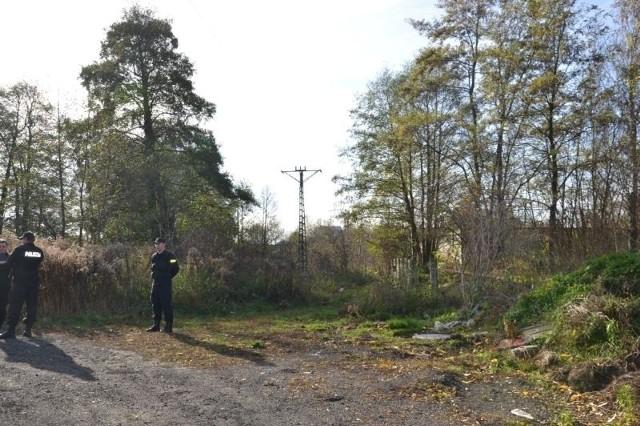 Zwłoki znaleziono na terenie zielonym w okolicach ul. Łąkowej w Aleksandrowie Łódzkim