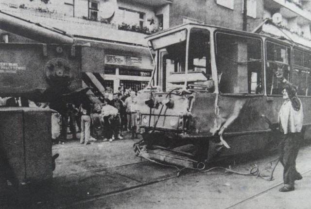 Wypadek tramwajowy na Wildzie - 8 września 1993 r.