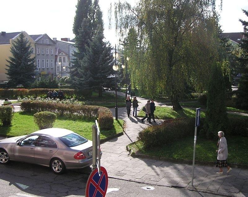 Plac Kardynała Wyszyńskiego w Bytowie znajdzie się pod kontrolą kamer.