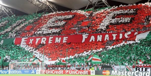 Mecz Legia - Lech będą mogli oglądać na stadionie również kibice  z Poznania