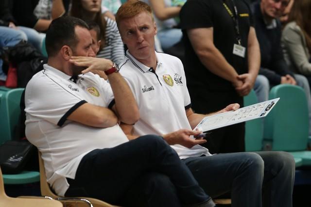 Radosław Hyży zbierał trenerskie doświadczenie u boku Mihajlo Uvalina