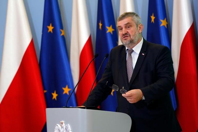 Jan Krzysztof Ardanowski, minister rolnictwa i rozwoju wsi