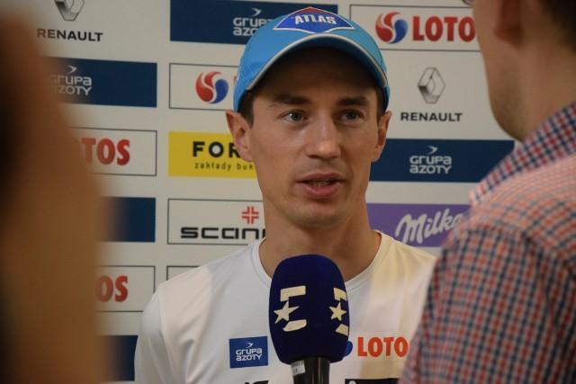 Kamil Stoch trenuje z kadrą w Szczyrku. We wtorek spotkał się z dziennikarzami. Odniósł się m.in. do sobotniego finału Ligi Mistrzów