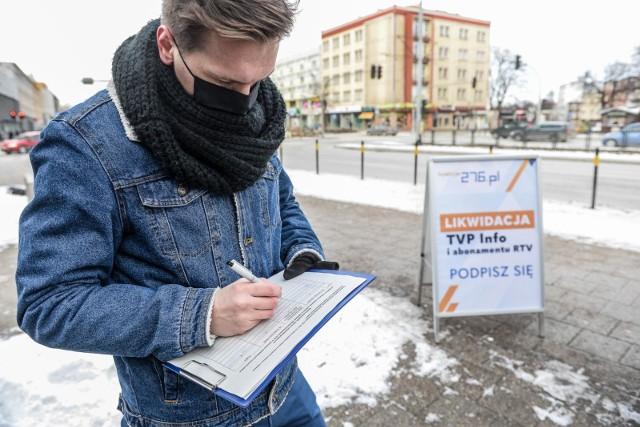 Zbiórka podpisów w Gdańsku