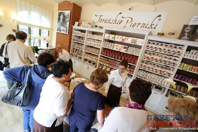 Muzeum Toruńskiego Piernika otwarte dla zwiedzającna koniec można było zakupić toruńskie pierniki