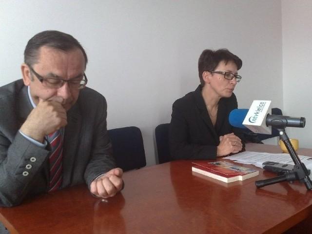Kazimierz Kik i Małgorzata Winiarczyk-Kossakowska