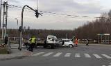 Wypadek w Rybniku. Kierowca był nietrzeźwy. Jego pasażer został poszkodowany