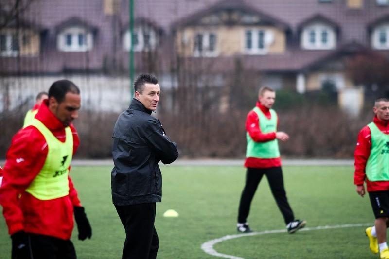 Tomasz Hajto prowadzi pierwszy trening Jagiellonii