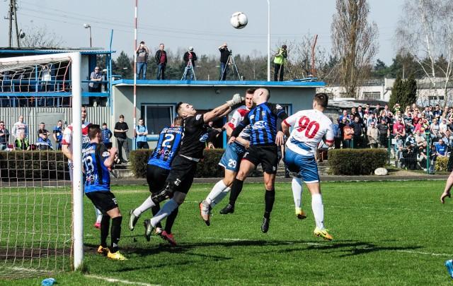 Derby Wisła - Zawisza odbyły się wcześniej także w ramach rozgrywek B klasy w 2017 roku.
