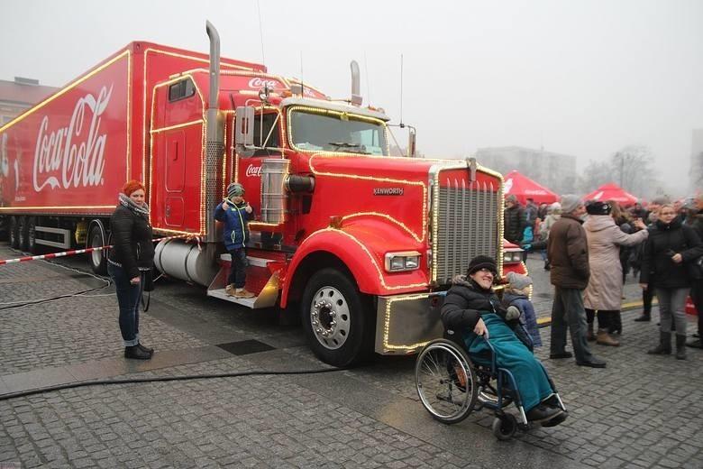 Ciężarówka Coca Coli może znów zawitać do Włocławka. Trwa głosowanie