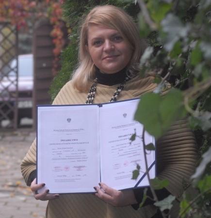 Ilona Filon-Król zajmuje się pozyskiwaniem funduszy w Stowarzyszeniu Brata Krystyna w Gorzowie. W ubiegłym roku skończyła ten kierunek na studiach podyplomowych w WSB.