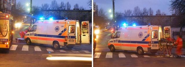 Koszalin. Wypadek na ul. Lechickiej.