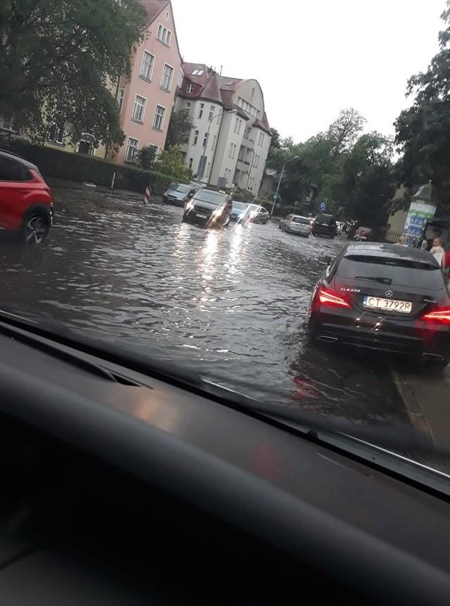 Burza w Sopocie 20.06.2019