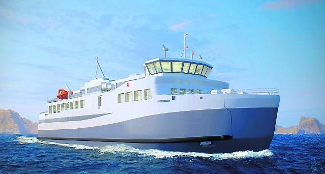 Nowoczesny RoPax będzie kursował na trudnych i wymagających wodach wokół Islandii