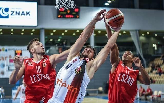 Artego Arena, inauguracja I ligi koszykarzy: Astoria - Polonia LesznoArtego Arena, inauguracja I ligi koszykarzy: Astoria - Polonia Leszno