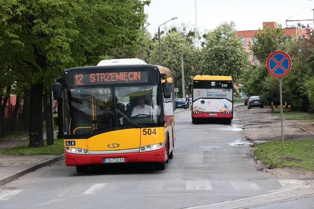 Arriva obsługuje do połowy lipca  w Grudziądzu linie nr 3, 4, 12 i 21. Po wygaśnięciu umowy przewoźnika z miastem, pracę może stracić kilkudziesięciu kierowców.