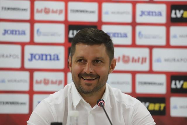 Dawno nie widzieliśmy uśmiechniętego trenera Marcina Kaczmarka
