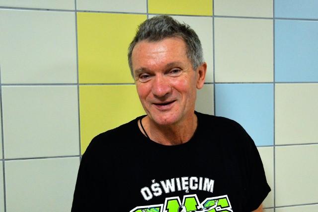 Marek Dorywalski, prezes UKP Unia Oświęcim, koordynator SMS Oświęcim