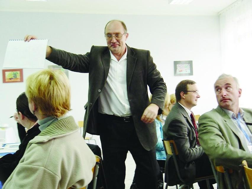 """Andrzej Kondej, właściciel firmy doradczej i szkoleniowej SBK Marketing w Białymstoku. Autor książki """"Polowanie na klienta"""""""