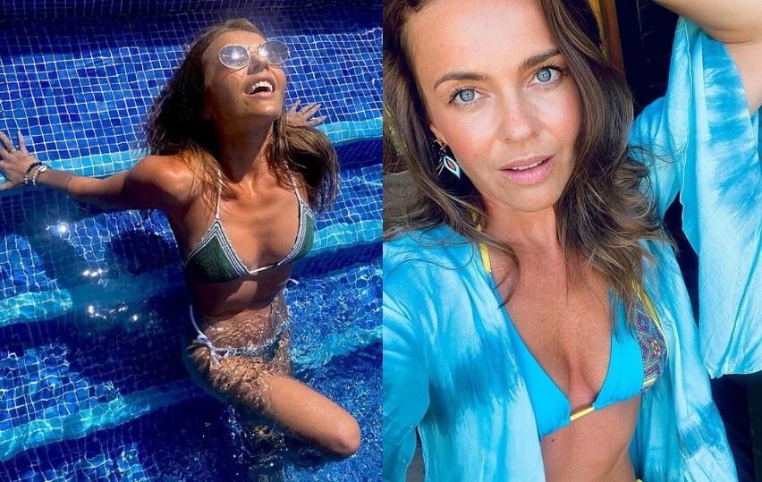 Piękna aktorka i tancerka z Kielc coraz częściej publikuje...