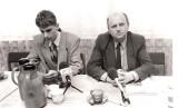 Byli i obecni politycy w odwiedzinach w Podlaskiem w latach 80-tych i 90-tych. Zobacz jak wyglądali kiedyś!
