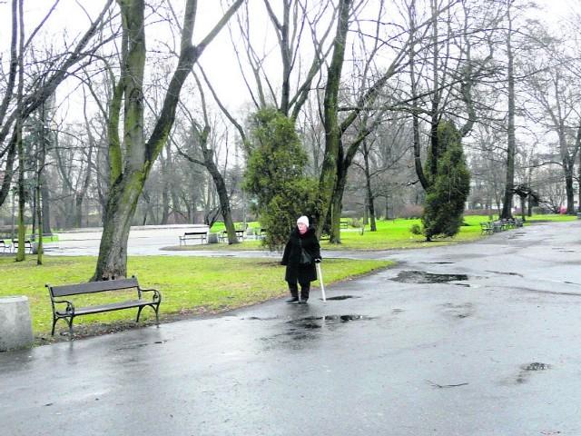 Za rok park im. Słowackiego ma wyglądać zupełnie inaczej niż teraz.