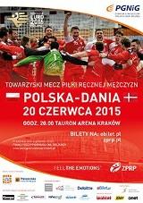Polska - Dania - bilety na mecz szczypiornistów w Krakowie wciąż do kupienia (CENNIK POLSKA - DANIA)