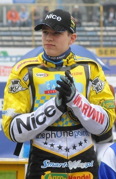 Przemysław Pawlicki ma niespełna 19 lat. Pochodzi z Leszna, triumfator ubiegłorocznych IMEJ.