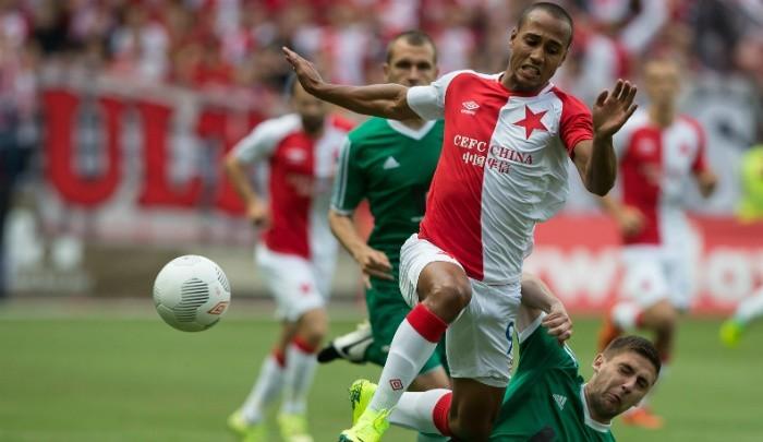 Gino van Kessel w Slavii Praga zdobył 2 bramki w siedmiu meczach ligowych