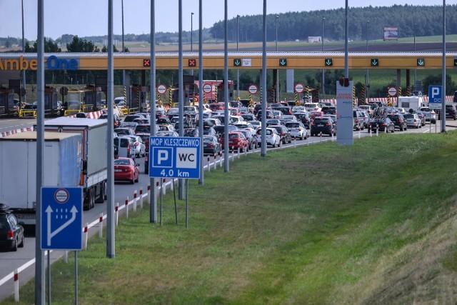 Wwakacje z pomorskiego, płatnego odcinka autostrady A1 skorzystało 4,6 mln pojazdów.