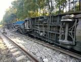 Wypadek kolejowy pomiędzy Opolem a Tarnowem Opolskim. Zawinił niesprawny wagon