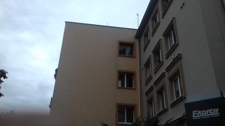 Akcja straży pożarnej na ulicy Zamoyskiego w Bydgoszczy. Co się działo? [zdjęcia]