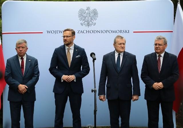 Wizyta ministra kultury Piotra Glińskiego w Szczecinie 02.08.2021
