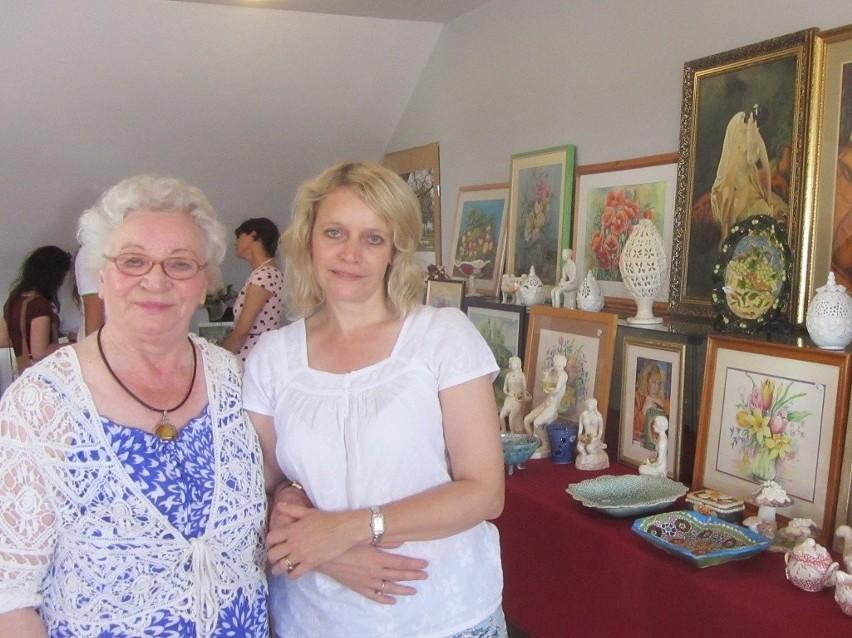 Pani Jadwiga A. Balińska-Jasinek  z córką Iwoną Bogdanowicz.