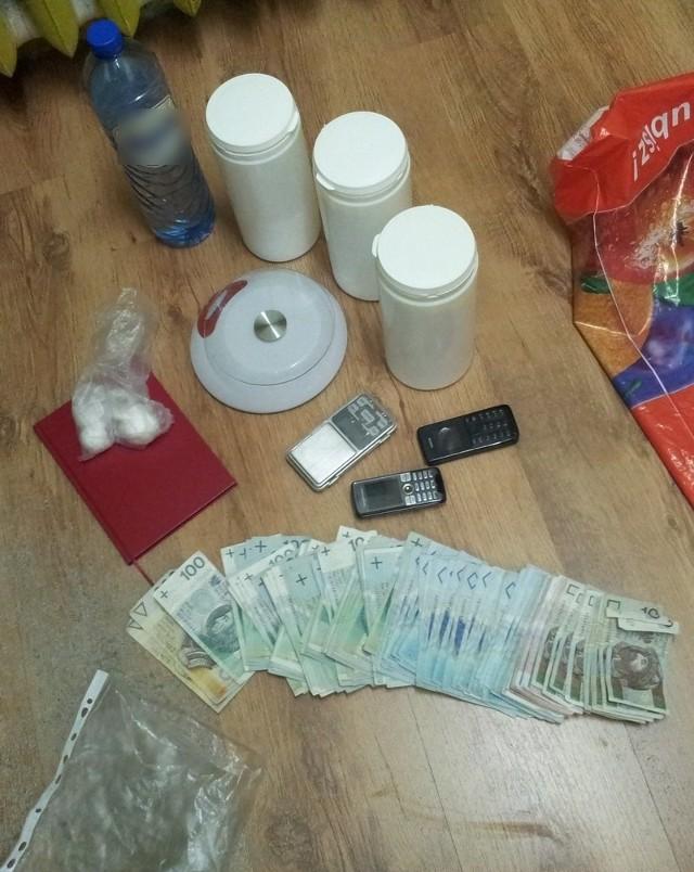 Piła: Zatrzymano handlarzy narkotyków [ZDJĘCIA]