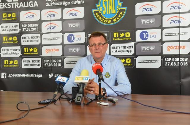 Stanisław Chomski ma pracować w Stali Gorzów przynajmniej do 2018 roku.