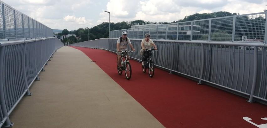 Nowa kładka rowerowa wzdłuż Kamieńskiego