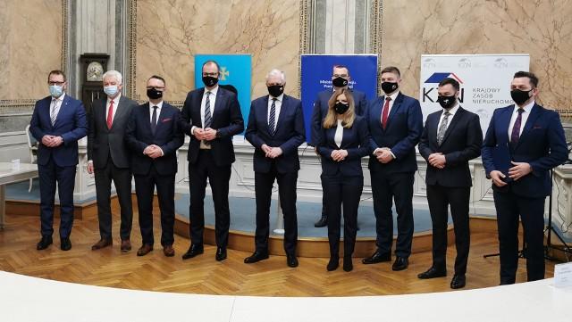 Spotkanie Jarosława Gowina z samorządowcami w Przemyślu.