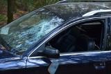 Porzucony samochód w Zielonej Górze. Został skradziony? A może uczestniczył w przestępstwie drogowym?