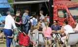 Pokazy fly-boardowe i Food Trucki nad Wisłą w Grudziądzu [wideo]