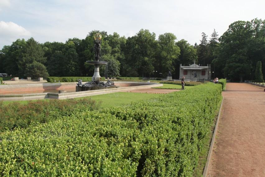 Park w Świerklańcu to piękne miejsce...