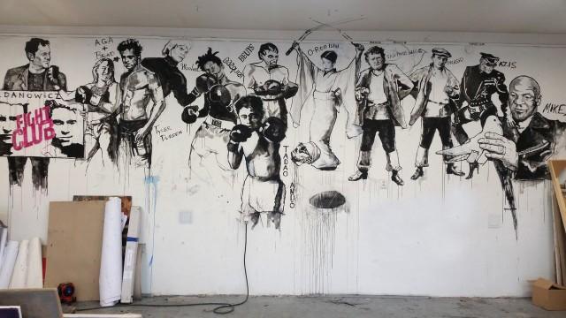 Ventzislav Piriankov pozwał Uniwersytet Artystyczny w Poznaniu o naruszenie jego dóbr osobistych po zamalowaniu stworzonych przez niego murali.Przejdź do kolejnego zdjęcia --->