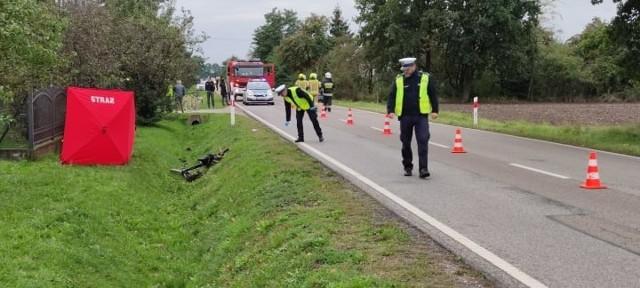Do tragicznego zdarzenia doszło na DW 982 w miejscowości Słupiec