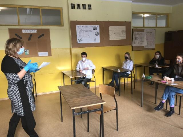 11.01.2021 - Egzaminy zawodowe w Zespole Szkół Rzemiosła w Łodzi